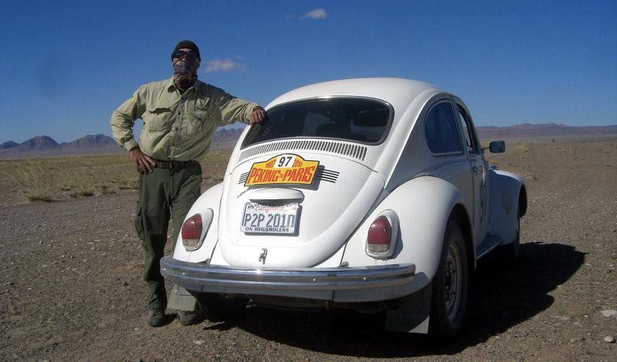 Peking to Paris in a '69 VW Beetle | RailRiders