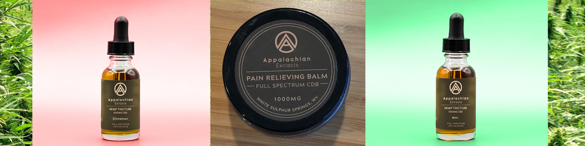 CBD Extract Oils and Body Balm
