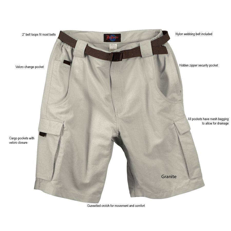 Men's Quick Dry Cargo Shorts | Multi Pocket Jammin Shorts For Men ...