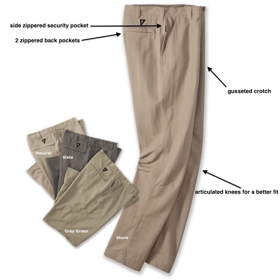 Tough Quick Dry Khaki Travel Pants For Men Men S Backcountry Khakis Railriders