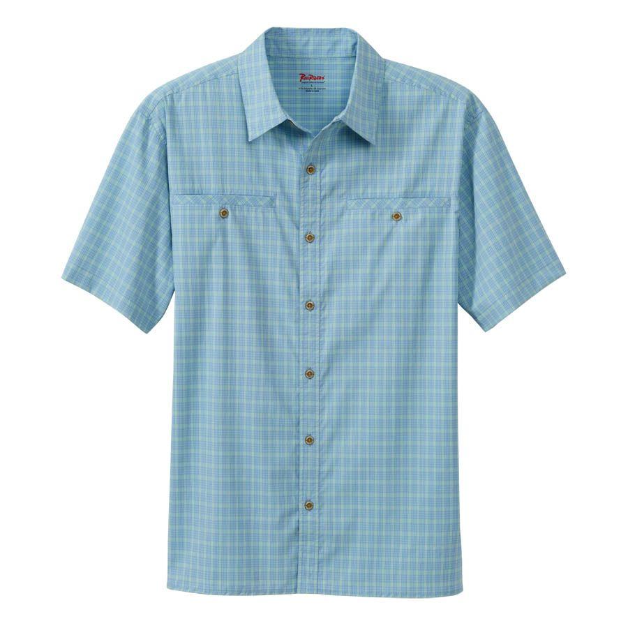 Men's Short Sleeve Wayfarer Plaid Shirt