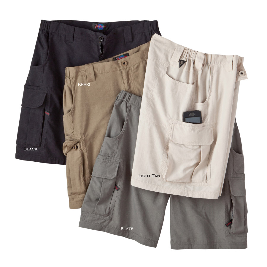 Mens Nylon Cargo Shorts - The Else