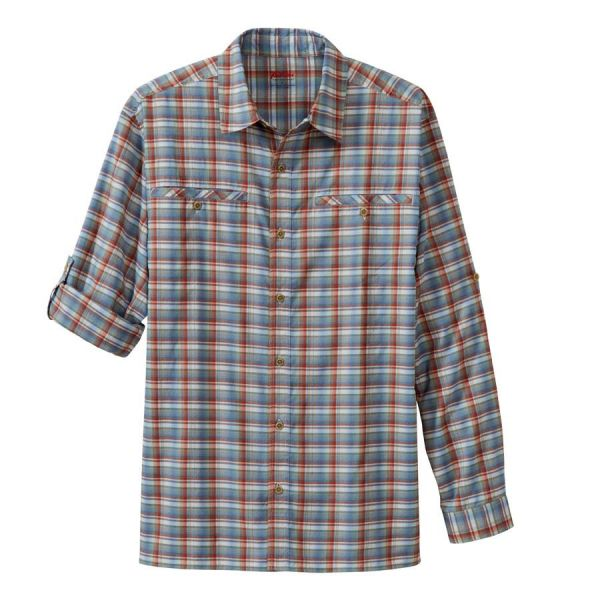 Men's Long Sleeve Wayfarer Plaids