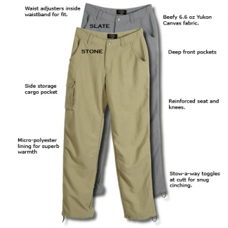 RailRiders Lined Yukon Work Pant