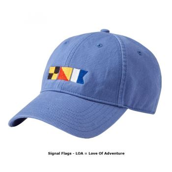 LOA Signal Flags Hat - Love of Adventure