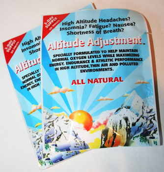 Altitude Adjustment Tablets