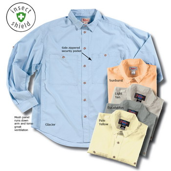 Men's Madison River Shirt with Insect Shield